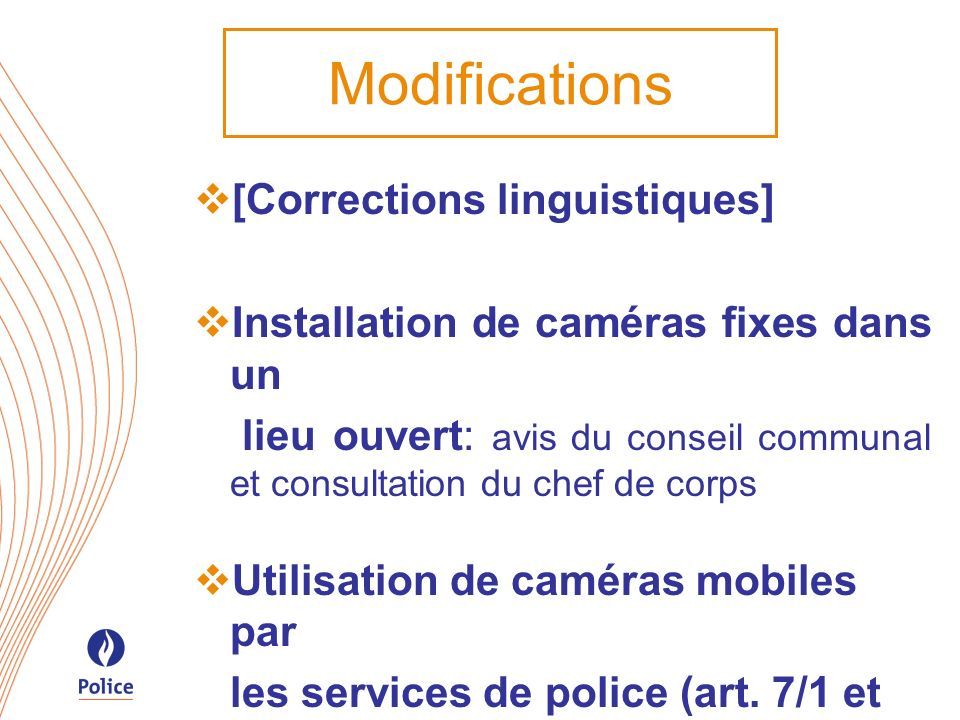 Modifications [Corrections linguistiques]